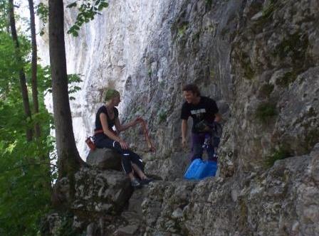 Klettern mit Daniel
